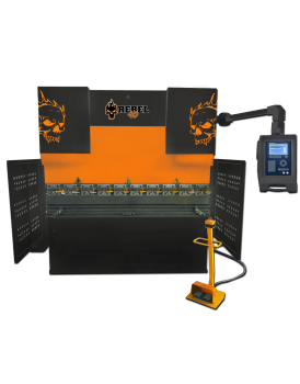 Press brake Rebel 40 ton orange black skull