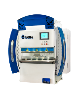press brake high speed Rebel 30 blue white skull