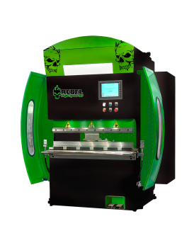 press brake Rebel High Speed 30 green black skull
